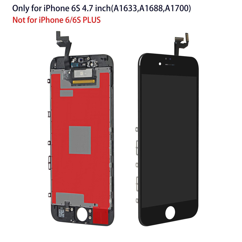 Schwarz Retina Display mit Werkzeuge Front Komplettes Glas f/ür iPhone 8 4.7 Zoll MEHRWEG YPLANG LCD Touchscreen f/ür iPhone 8 Display Ersatz Bildschirm