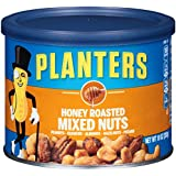 Planters Mixed Nuts, Honey Roasted, 4 Count, 40 Ounce