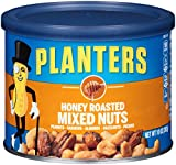 Planters Mixed Nuts, Honey Roasted, 10 Ounce Canister (Pack of 4)