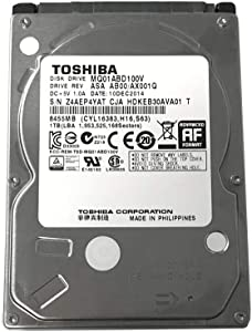Toshiba 1TB 5400RPM 8MB Cache SATA 3.0Gb/s 2.5 inch PS3/PS4 Hard Drive - 3 Year Warranty
