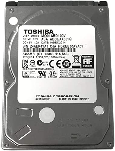 Toshiba 1TB, 5400RPM 8MB, Notebook Hard Drive review