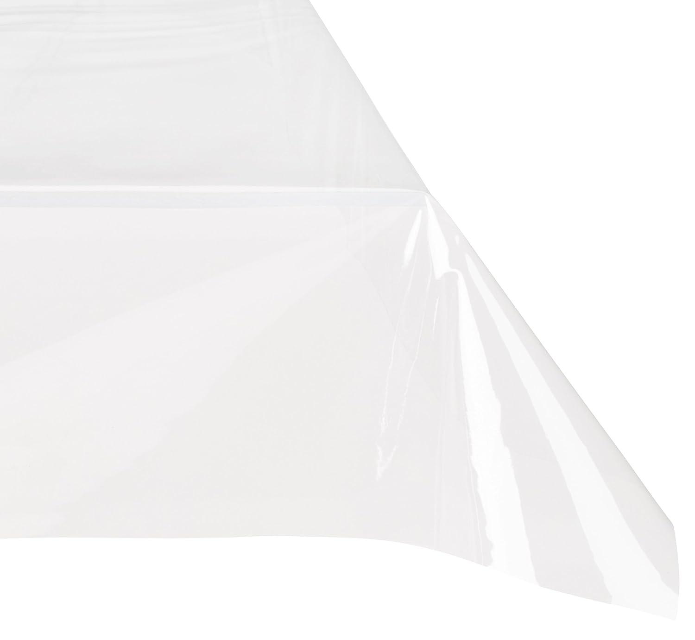 DecorLine Nappe Cristal Uni Transparent 140 x 240 cm