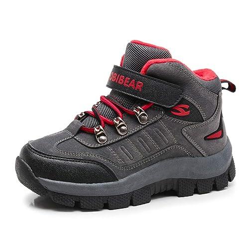 Scarpe Sportive per Bambini Ragazzi Scarpe da Ginnastica Impermeabili per  Bambini Scarpe da Trekking Invernali Antiscivolo  Amazon.it  Scarpe e borse b1e9e35771a