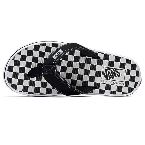 5dc18d53e68af7 Image Unavailable. Image not available for. Color  Vans LA Costa Lite Thong  Sandals Checkerboard Black Men s ...