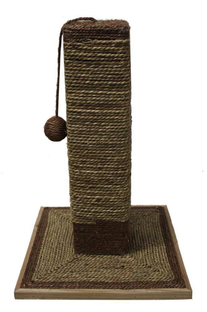 Axiba Alberi di Gatto Piccolo Gatto Arrampicata Colonna Cat Cat Cat Scratch pilastro lettiera per Gatto Pet fornisce 40  40  65 cm 96826c