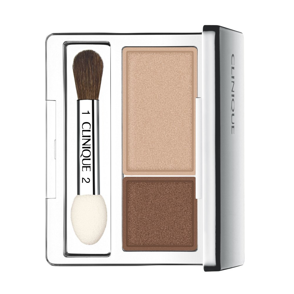 Clinique All About Shadow Duo, shade=Ivory Bisque/Bronze Satin by Clinique