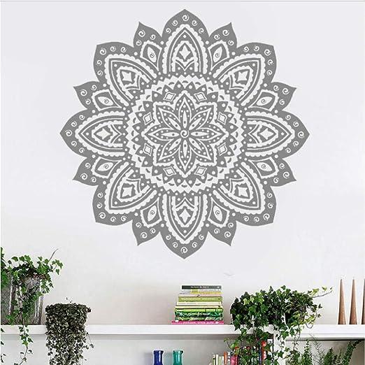 Yhzer Mandala Yoga Wall Sticker Decals Datura Buddha ...