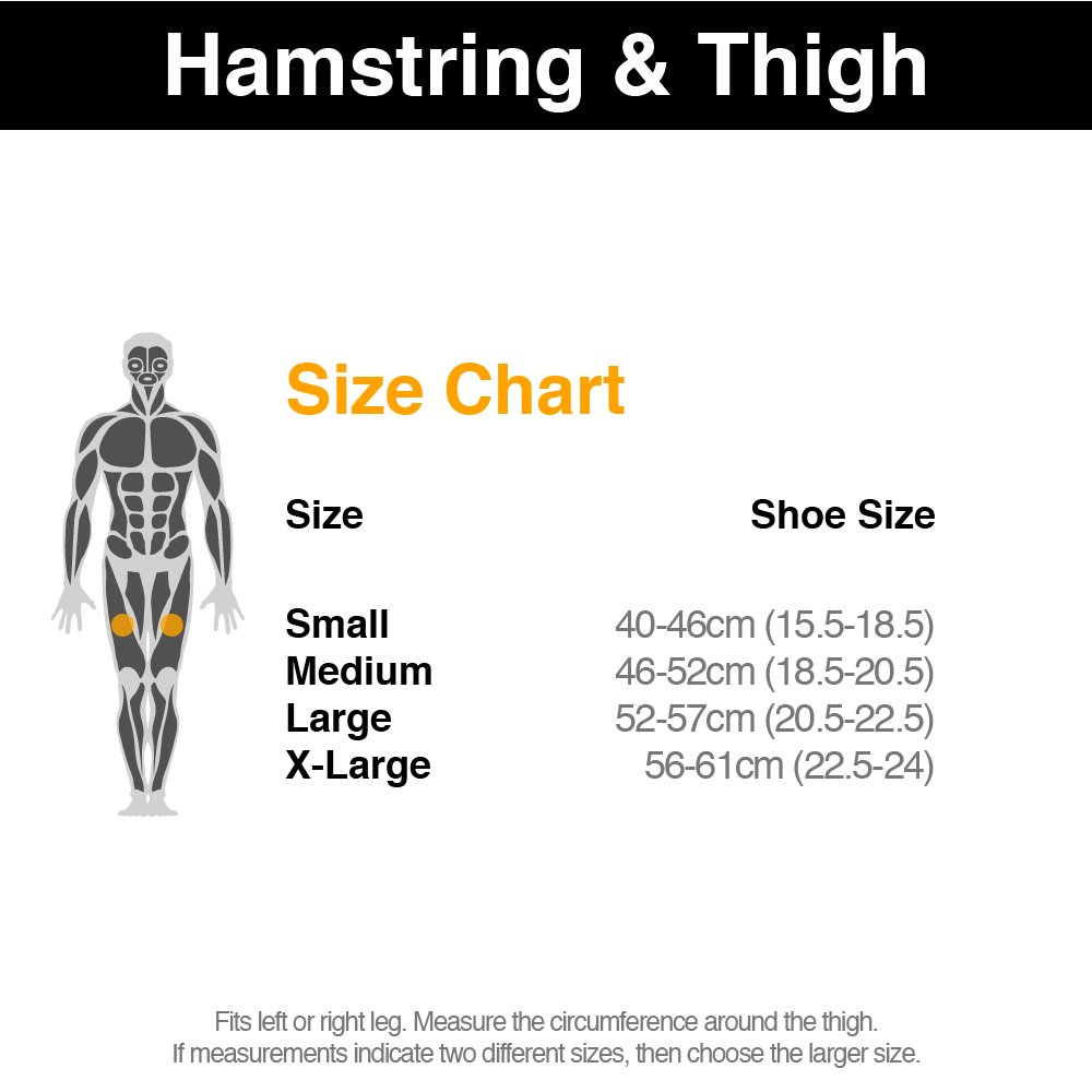 Physioroom thigh support stop hamstring injuries compression physioroom thigh support stop hamstring injuries compression sports ideal for runners cyclists footballers and more to protect the thigh and hamstring pooptronica