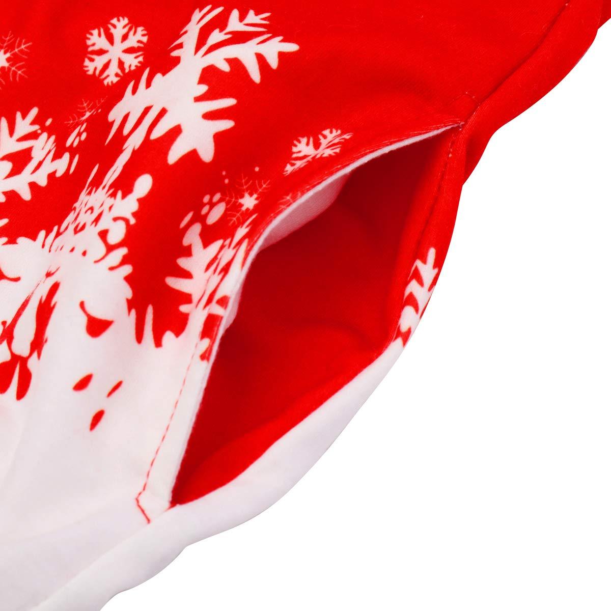 Christmas Sweatshirt Toddler Kid Boy Girl Santa Claus Hoodie Long Sleeve Reindeer Blouse Reindeer Top Shirt Pullover