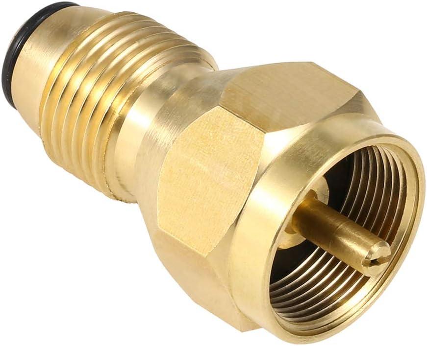 1LB Tank Gas QCC1 Regulator Valve Propane Refill Adapter Outdoor BBQ Kit