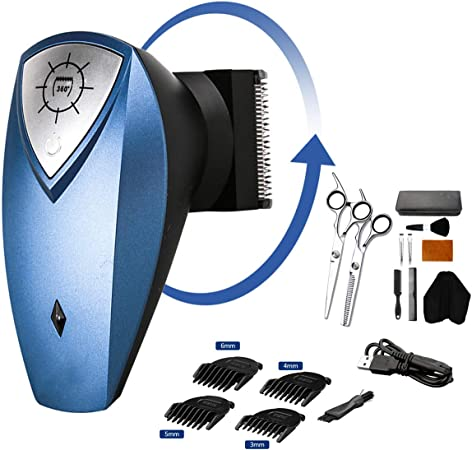 GYL BEAUTY Cortapelos inalámbrico, afeitadora Recargable USB para ...