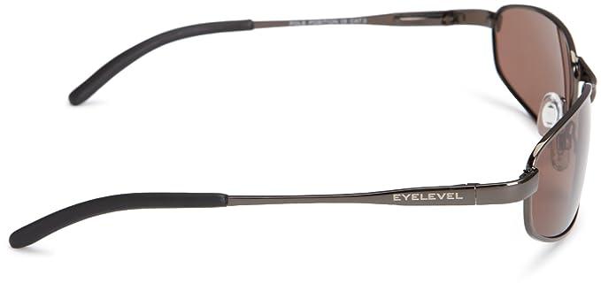 7165d9ae88 Eyelevel Pole Position 2 Polarised Men s Sunglasses Shiny GunMetal One  Size  Amazon.co.uk  Clothing