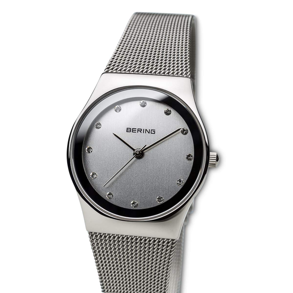 BERING Reloj Analógico para Mujer de Cuarzo con Correa en Acero Inoxidable 12927-000: Amazon.es: Relojes