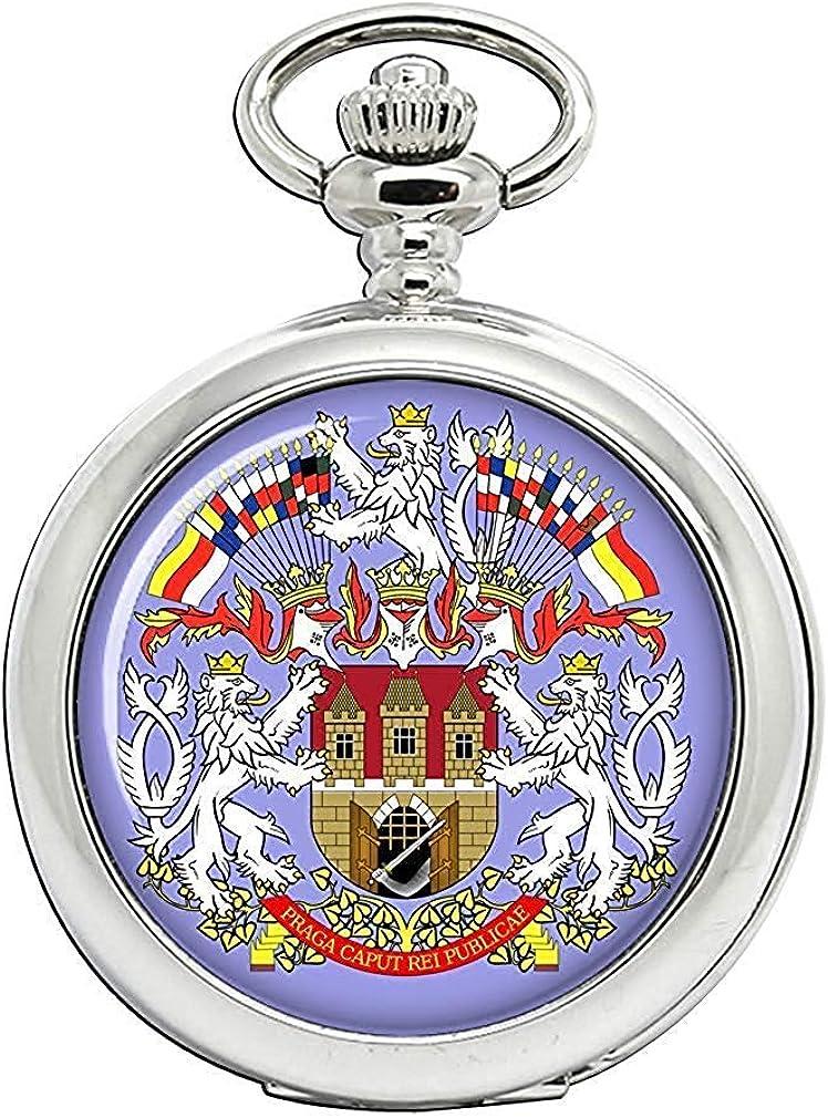 Praga PRAHA (Checa) Full Hunter reloj de bolsillo