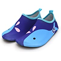 Adorel Girls' Water Shoes Aqua Shoes Beach Swim Patterned