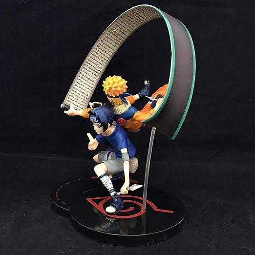 Allegro Huyer Naruto Figura de acción de Naruto Ninja Chimi ...