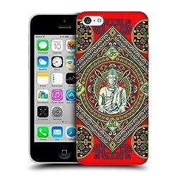 Head Case Designs Buddha Tibetan Pattern Back Case For Apple iPhone 5c