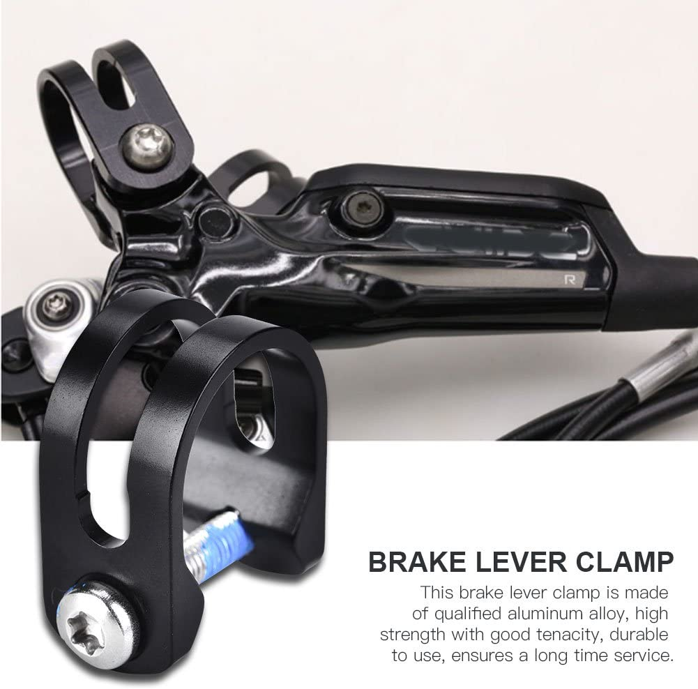 Bike Brake Lever Clamp Aluminum Alloy Brake Lever Clamp for E7 E9 X0 Guide R RS RSC Code Yosoo Health Gear Bicycle Cycling Bar Clamp 1 Pack