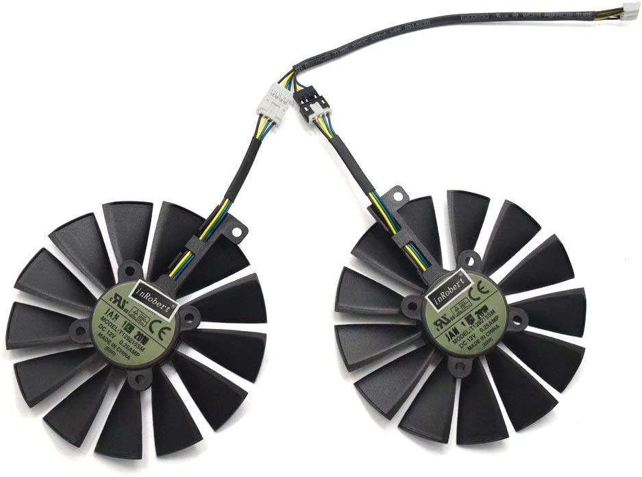 Cooler ASUS STRIX-RX470-O4G-GAMING RX580 GTX1050Ti (1 par)