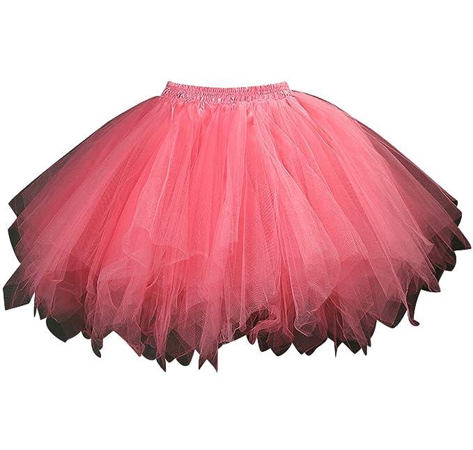 hot sale online 856f7 5ba69 Gonna Tulle Corta Donna Tutù Tutu per Danza Ballerina Gonne ...