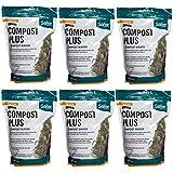 Safer 3050-6 Brand Ringer 2 Lb. Compost Plus-6, 6 Pack, Green