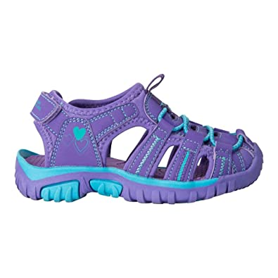 Mountain Warehouse Bay Junior Shandals - Neoprene Shoes Sandals, Durable  Kids Flip Flops, Midsole