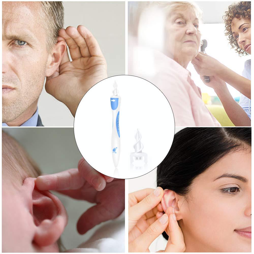 Ohrenreiniger, Spirale Silikon Ohr Wachs Entfernung Tool Kit