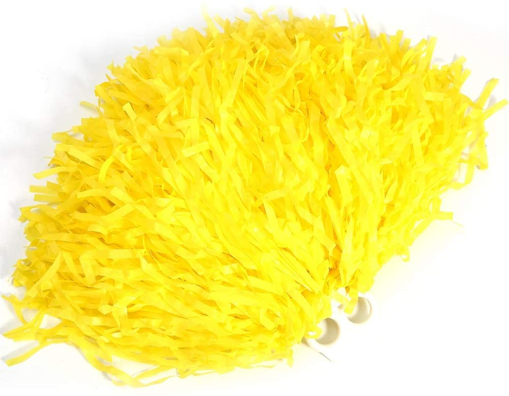 Tbest Cheerleading Pompons Poms 4 St/ück Cheerleader Pom Poms Pompoms Blume Ring Pom Poms Modische Cheer Kost/üm Zubeh/ör f/ür Party Dance Sports