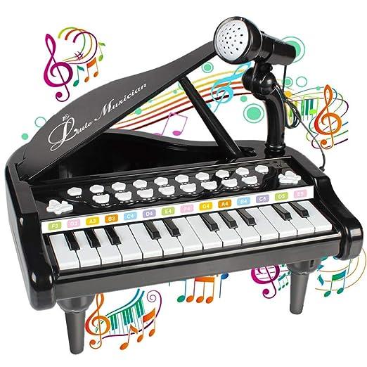 Fcostume Piano Teclado Juguete para niños 1 2 3 4 años Niña ...
