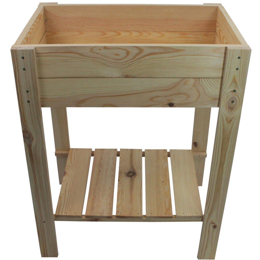 Table de culture en bois imprégné FSC® certifié - Table de jardin ...