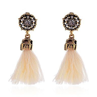 Ohrringe Stainless Steel mit Strass Fashion Elegant Modeschmuck Damen Geschenk