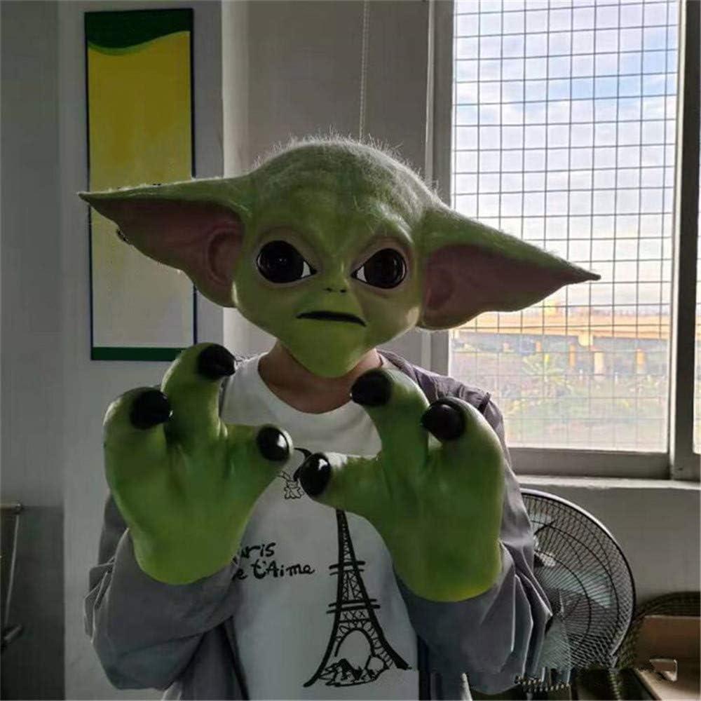 Película Star Wars Master Yoda Máscara Cosplay Disfraz Accesorios ...