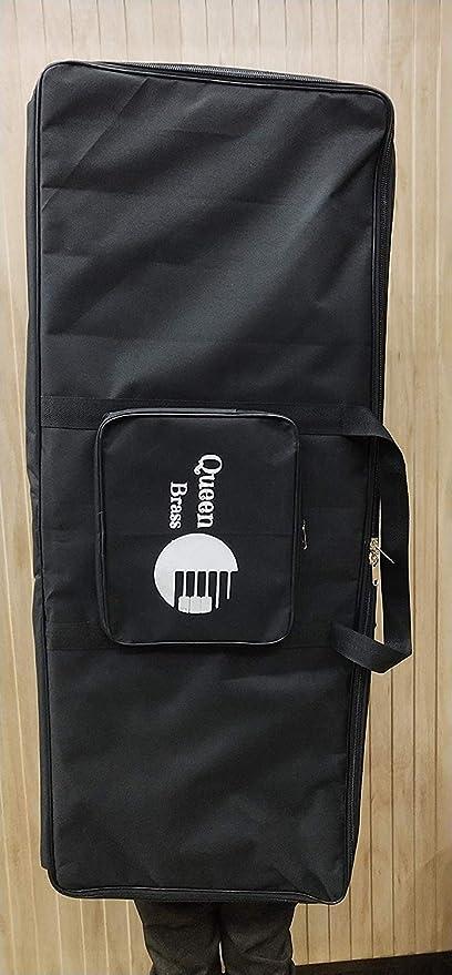 Funda acolchada para 61 teclados Yamaha/Casio, color negro