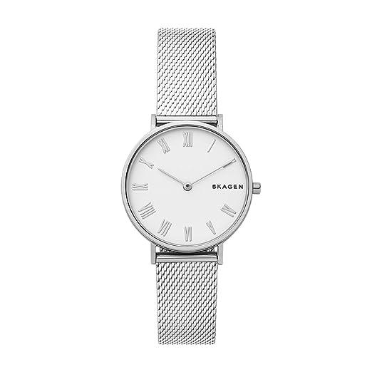 Skagen Reloj Analógico para Mujer de Cuarzo con Correa en Acero Inoxidable SKW2712: Amazon.es: Relojes