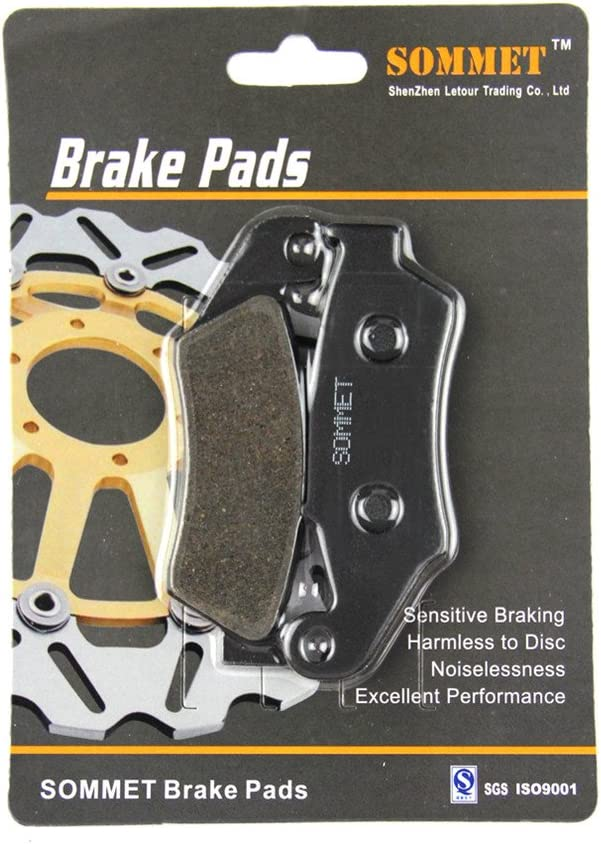 2003-2015 SOMMET Motorcycle Front Brake Pads Disc 1 pair for Honda CRF 230 F