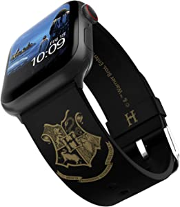 Harry Potter – Hogwarts Gold Smartwatch Band – Officially Licensed, Compatible with Apple Watch (not Included) – Fits 38mm, 40mm, 42mm and 44mm