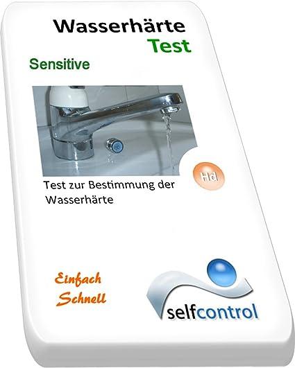 Selfcontrol / UW 5022 D 10 / 5 Tiras de prueba para la dureza (test