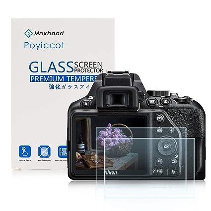 Nikon D3300 D3200 LCD Protector de pantalla de cristal templado 9H ...
