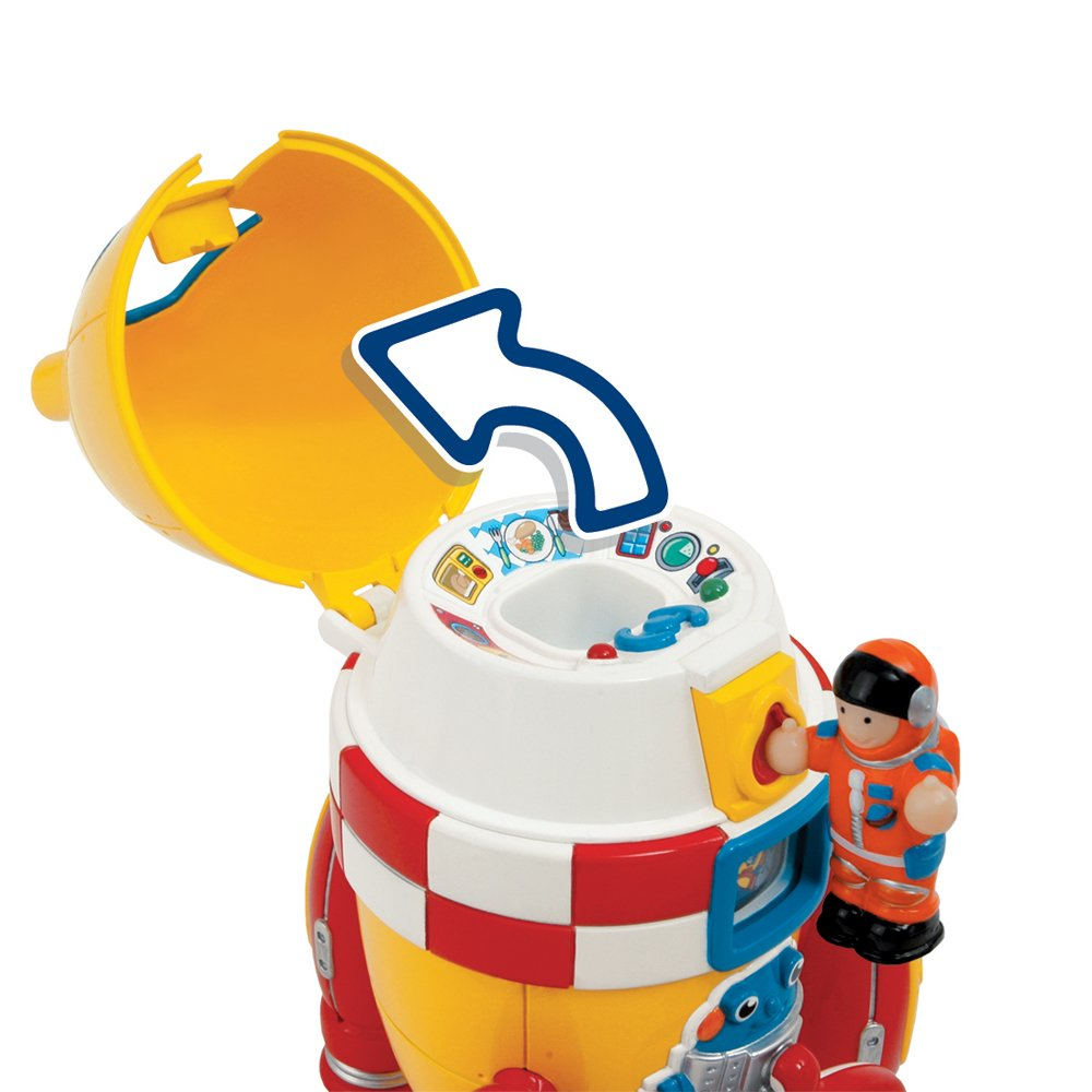Wow Ronnie The Rocket (2 Piece Play Set) by WOW Toys (Image #4)
