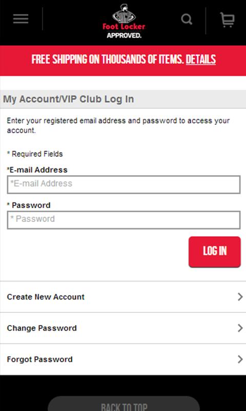 Register foot locker vip card