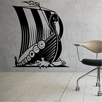 Zxfcczxf Barco Pirata Pegatinas De Pared Decoración Del Hogar Sala ...