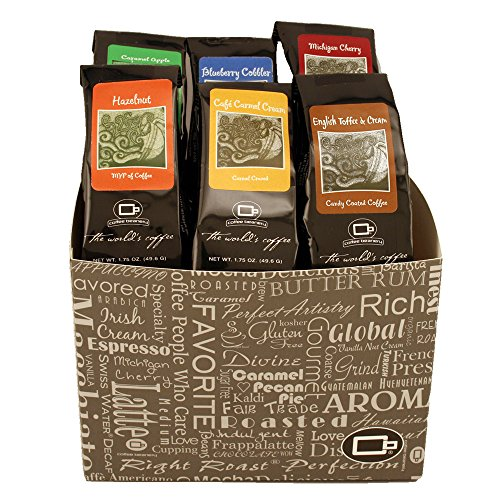 Sampler of Flavors by Coffee Beanery