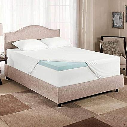 novaform comfortluxe gel memory foam mattress topper Amazon.com: Novaform ComfortLuxe Gel Memory Foam Mattress Topper  novaform comfortluxe gel memory foam mattress topper
