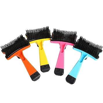 Cepillo para el cabello para mascotas, cepillo limpiador ...