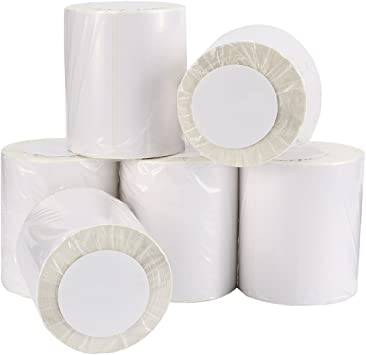 4 Roll 250 4x6 Direct Thermal Shipping Labels Zebra Eltron 2844 ZP450 Compatible
