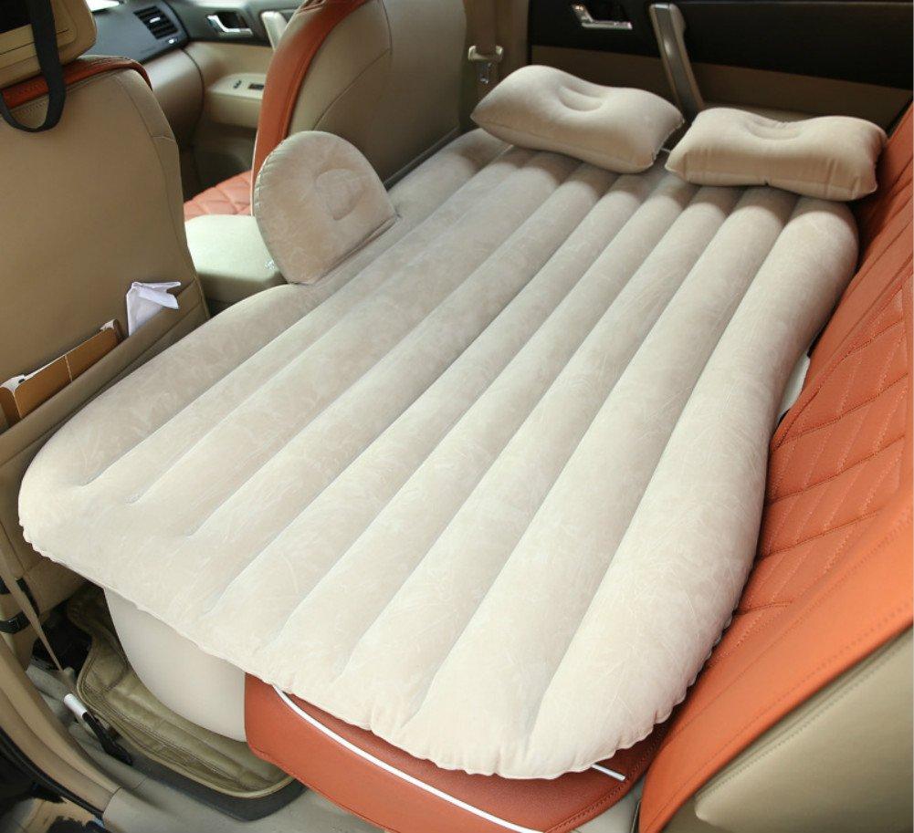 MLAURENT Funda para asiento trasero de coche, colchón hinchable ...