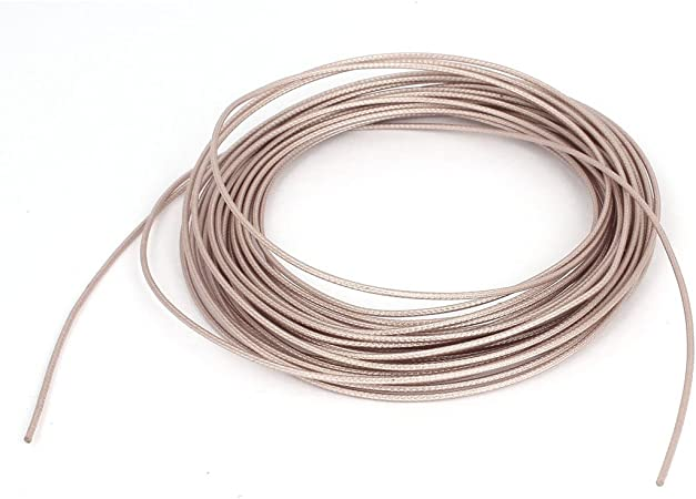 DealMux RG178 Cable coaxial coaxial Cable RF de Baja pérdida Cable de 10 m de Largo: Amazon.es: Hogar