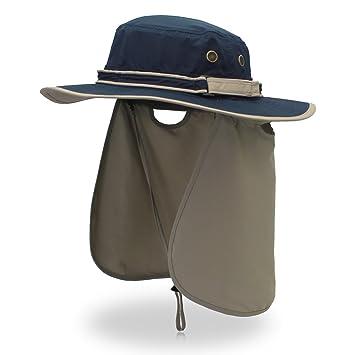 Outfly Fisherman - Gorro para hombre con diseño de olas anchas y gorra de  pesca 0b91f5538a5a