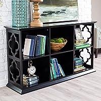 Belham Living Renata 6-Cube Quatrefoil Bookcase