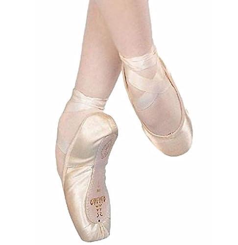 Sansha Récital 202 - Zapatillas de Ballet, Color Rosa, Talla M2 (34): Amazon.es: Zapatos y complementos